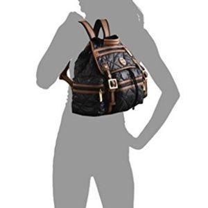 ac10d96dd53c ... Tory Burch Black Nylon Alice Backpack w.